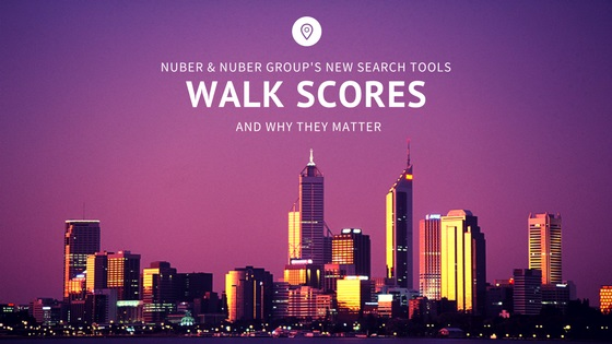 Nuber and Nuber Group's Powerful New Home Search Tool: Walk Scores and Why They Matter